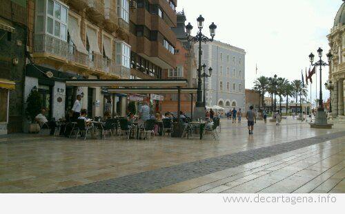 Comer al aire libre: terrazas en Cartagena
