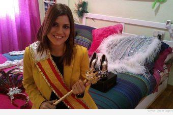 M. Aurora García: «Ser Reina me está descubriendo muchas cosas de las fiestas»