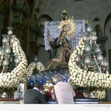 Actos por los 350 años de procesiones marrajas en Cartagena