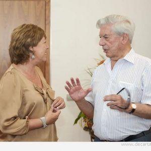 Vargas Llosa en Cartagena