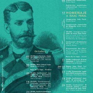 Actos por el aniversario de la botadura del Isaac Peral