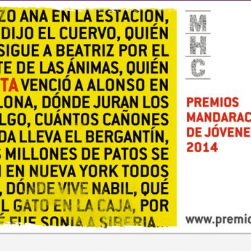 Premio Mandarache y Hache 2014, ya hay calendario