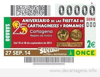 Cupón de Carthagineses y Romanos
