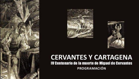Programa para el mes de Cervantes en Cartagena